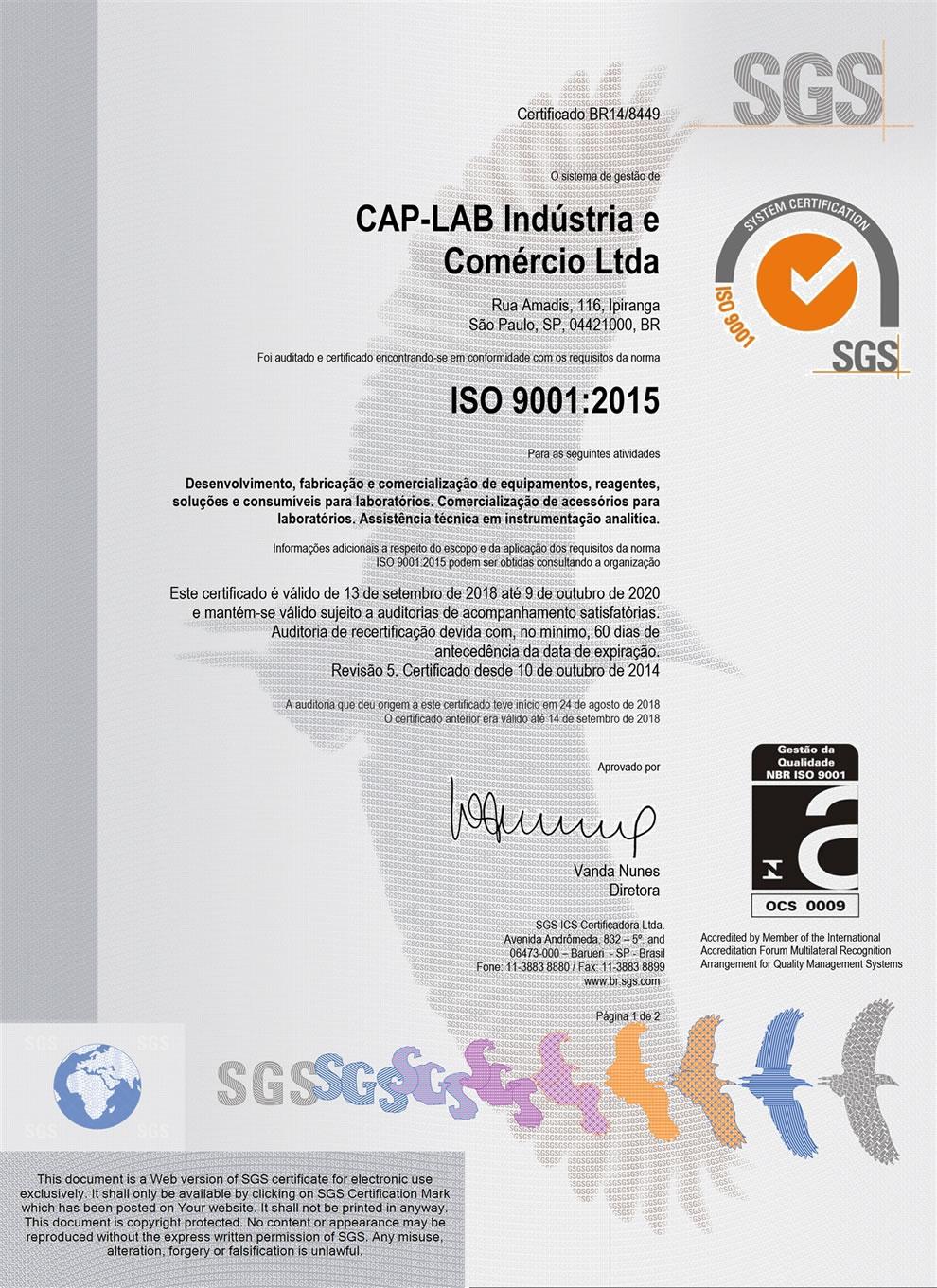 Baixar ISO 9001