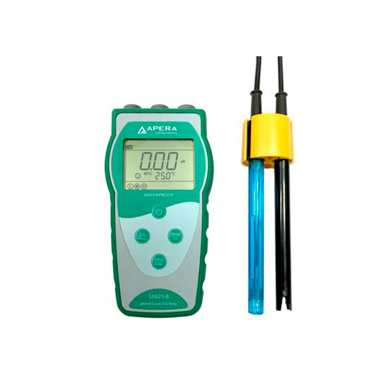 Medidor Portátil, pH, Condutividade, Tds