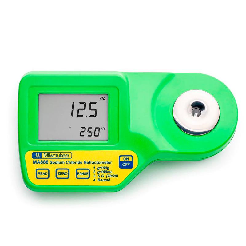 Refratômetro Digital - MA886