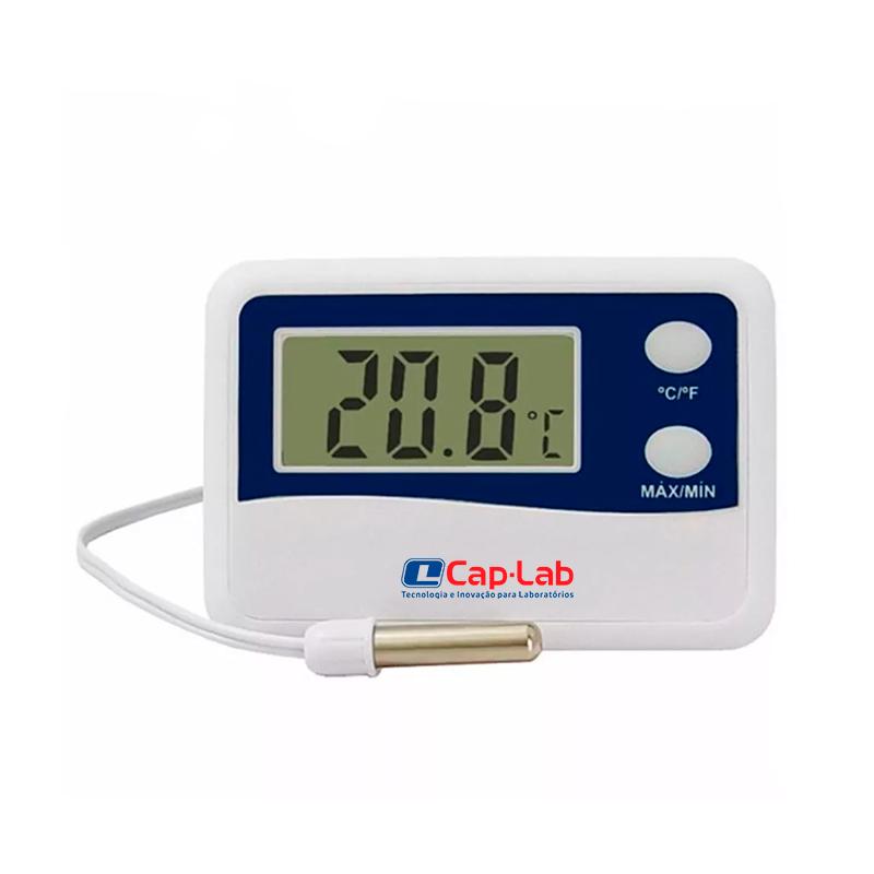 Termômetro Digital P/ Refrigeração Máx./Mín.