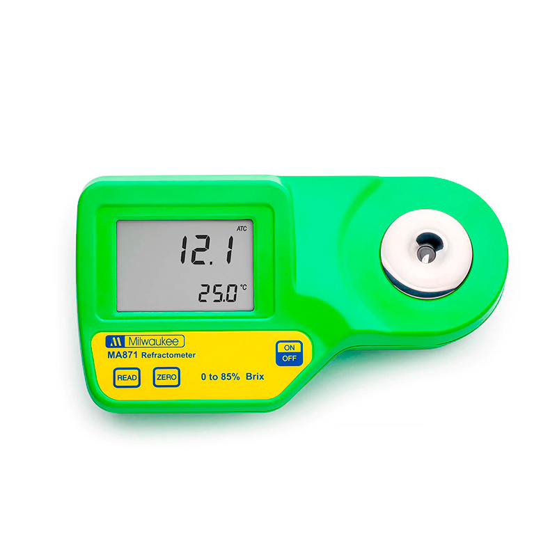 Refratômetro Digital 0-85% BRIX - MA871